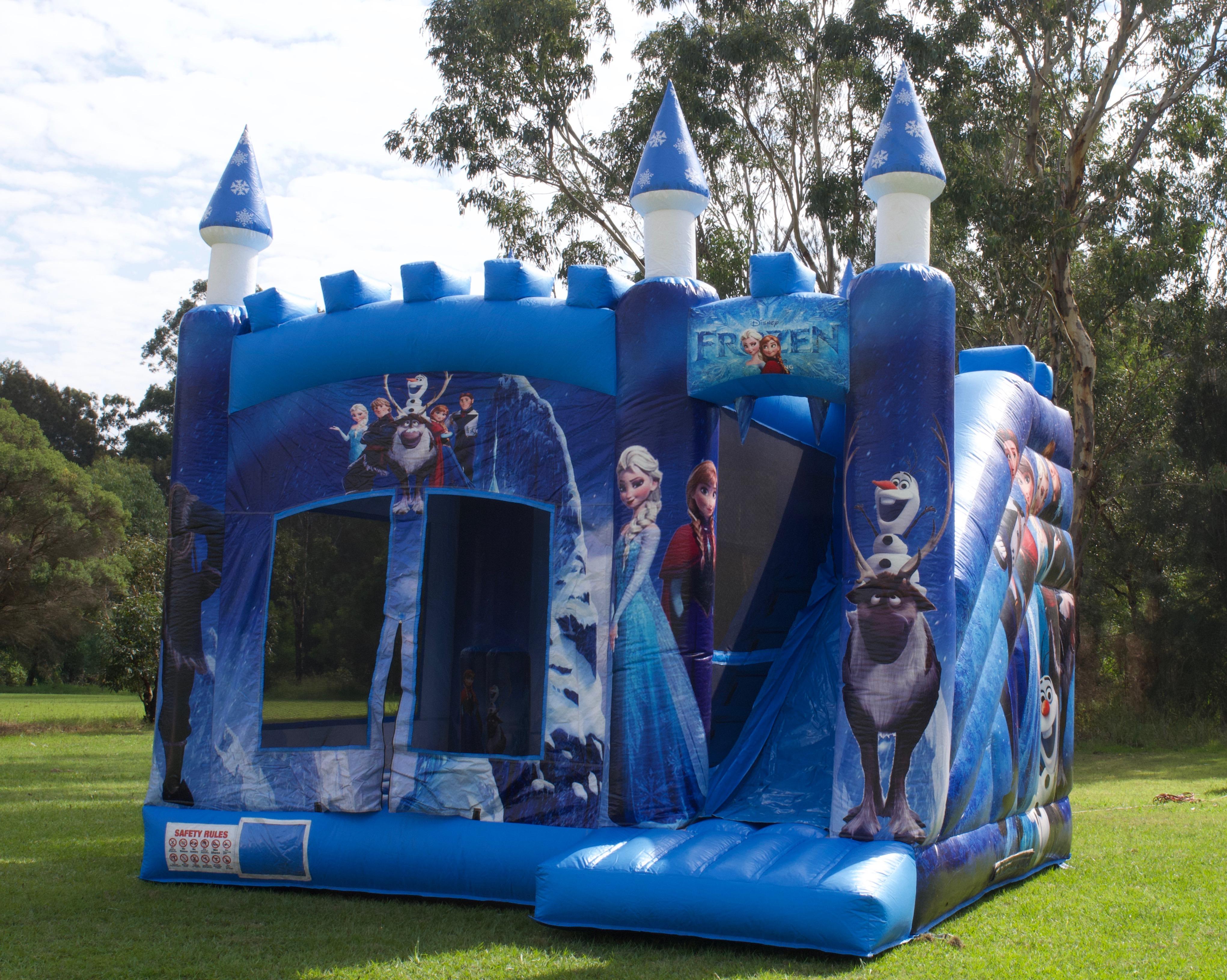 Frozen Tower Jumping Castle And Slide Wonderland Jumping